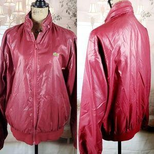 Vintage ( 80s) Lacoste Izod Oversize Bomber Jacket
